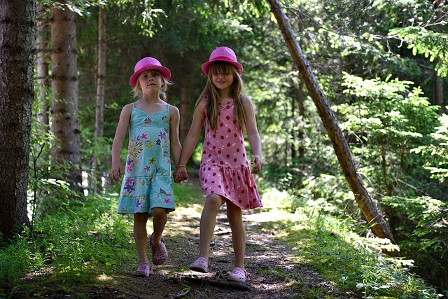 holčičky v klobouku