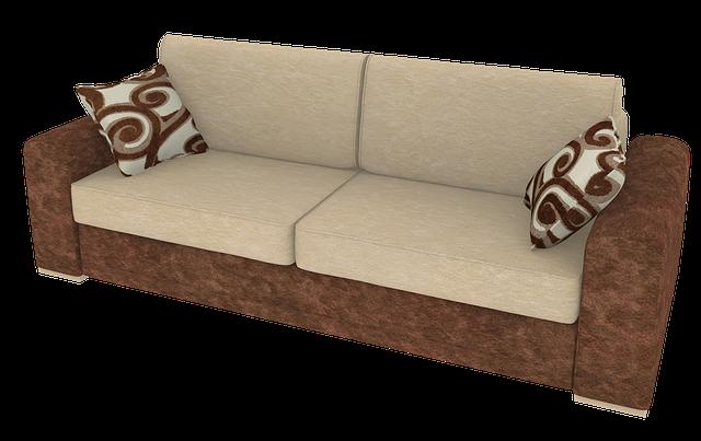 hnědý nábytek
