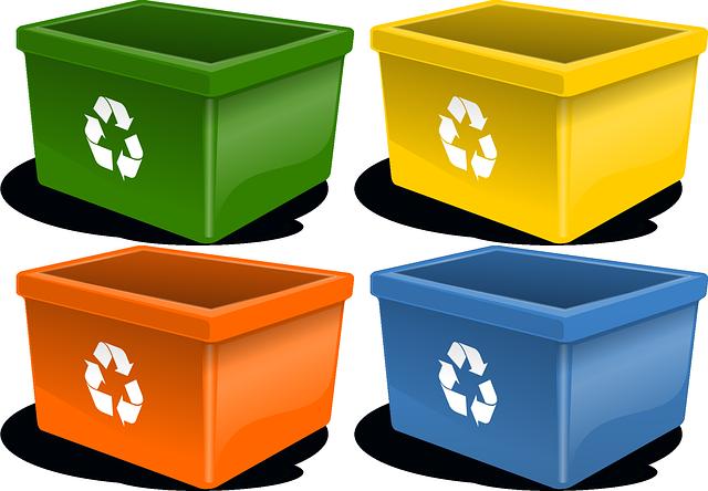 boxy na tříděný odpad