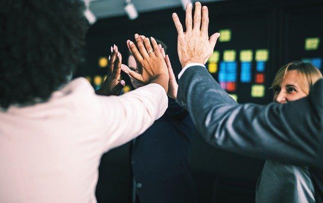 Úspěch podnikatelského týmu