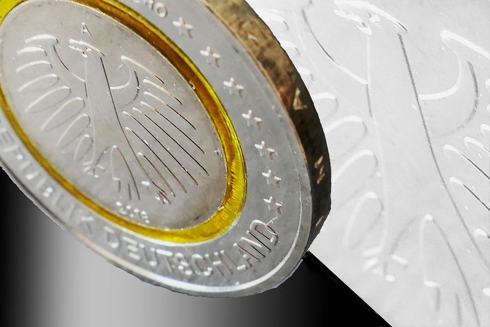 německá euromince